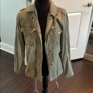 Express Green utility jacket